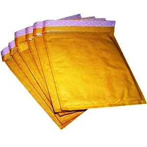 10 Gold Paddaed Envelopes Bubble Lined Envelope internal Size 260mm x 345mm 8 H