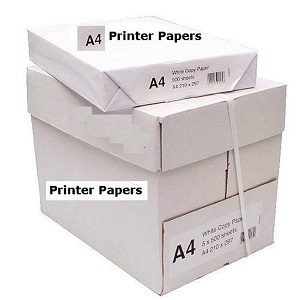 1 Ream 500 Sheet White A4 Paper 80GSM Photocopy Printing Paper Cheap Daily Uses